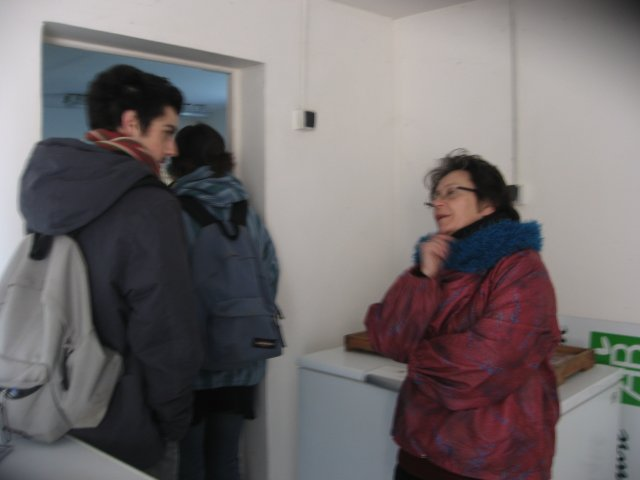 Pierre et Geneviève...connaissances du marché d'Arles! que le monde est petit!!!