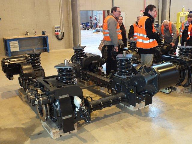 Visite au centre de maintenance Divia 04/2013
