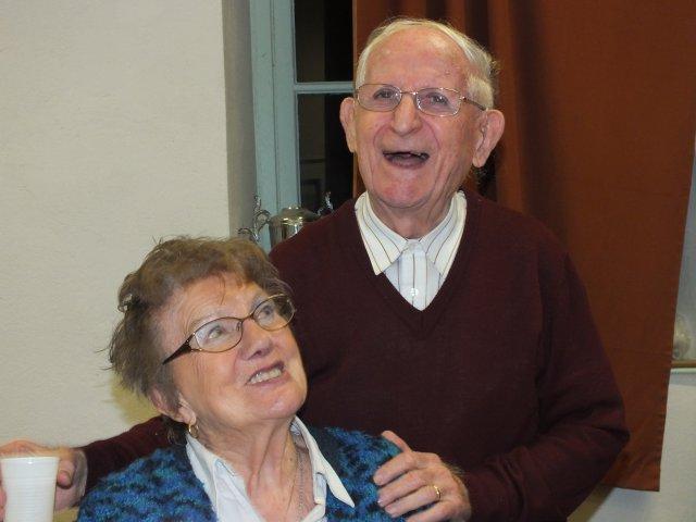 95 ans Georgette et Michel