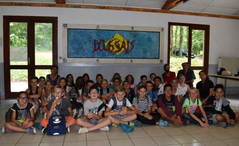 Classe campée - Ecole de Vivonne - juin 2018
