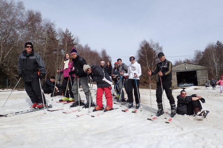 Groupe Mimard 2015 au ski