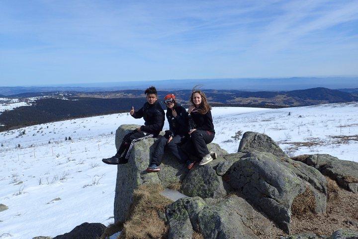 Au sommet du Peyre Mayou