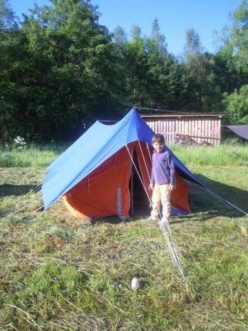 La tente des adultes