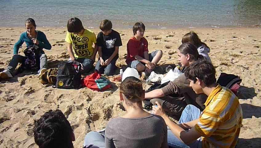 08009-Pique nique sur la plage