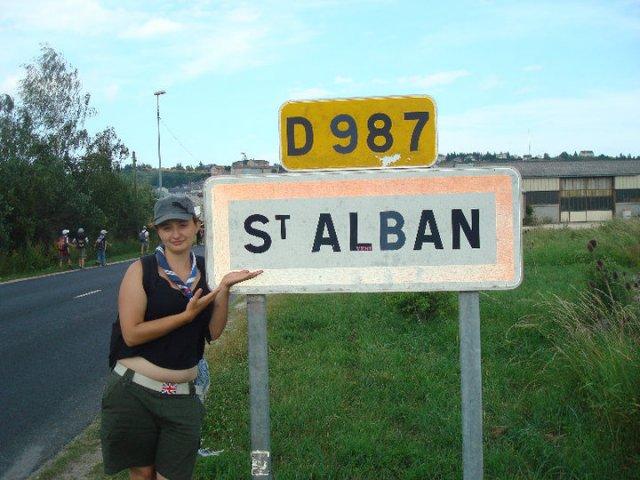 Retour à St Alban (sur Limagnole !)