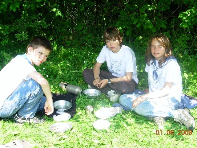 Un déjeuner sur l'herbe