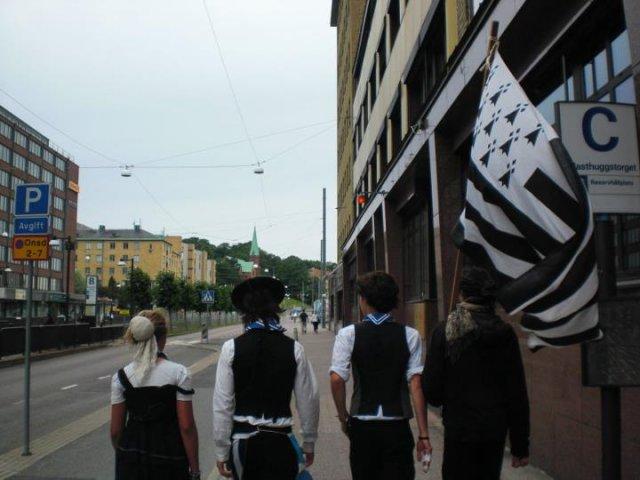 Les bretons à Göteborg