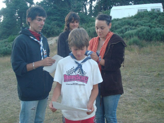 Maxime (avec Thibault, Maëlys, Charline)