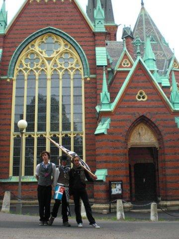 Geoffrey, JB, Germain (Göteborg)
