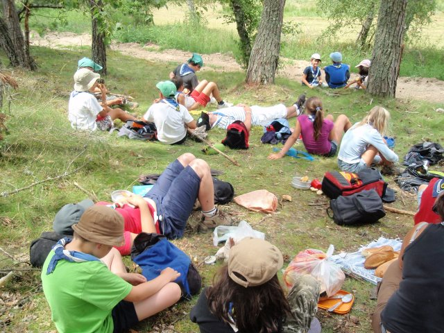 Camp volant (Moment repas)