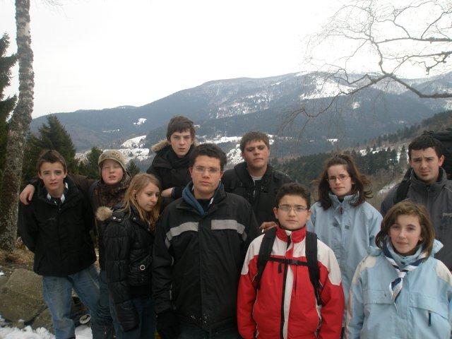 WE de février - Luge à Linthal
