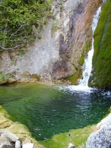 Cascade près de St Auban