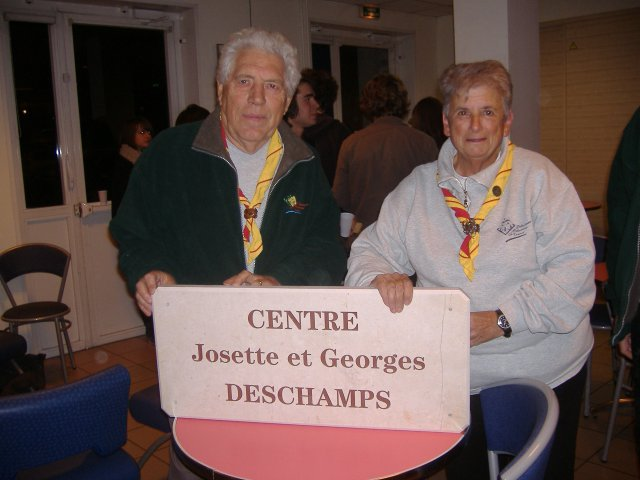 Josette & Georges Deschamps