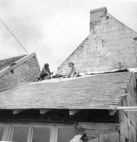 1975_construction de la cuisine