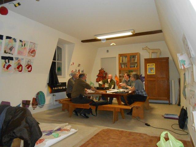 comité régional à Loches