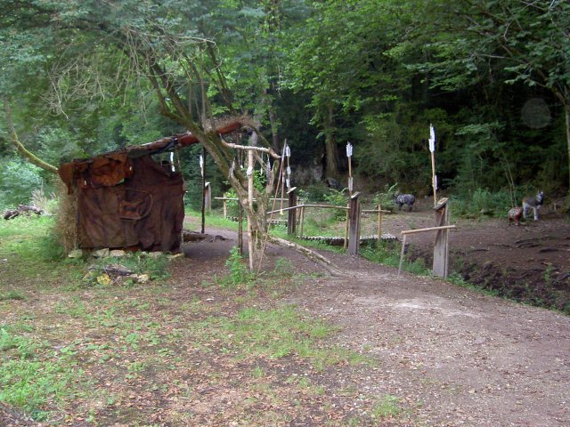 Un camp à thème préhistoire...