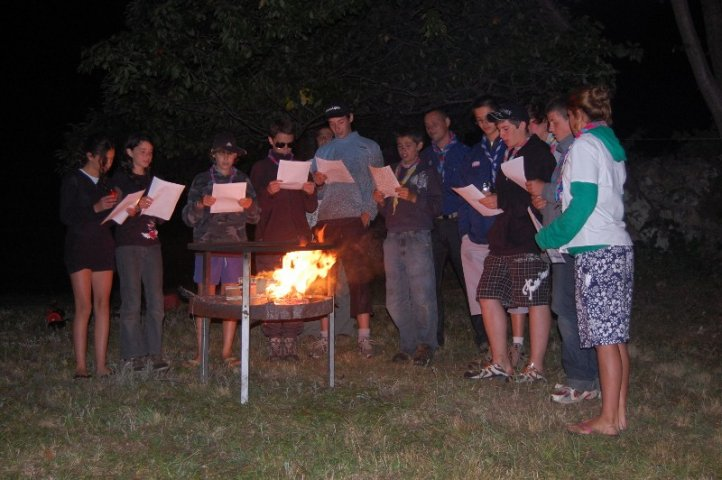 Camp 2008 Les Eclès S'engagent