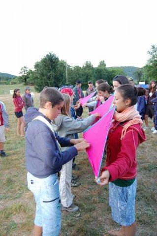 Camp 2008 Remise Foulard