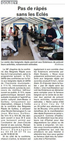 article vosges matin 02.05.2016
