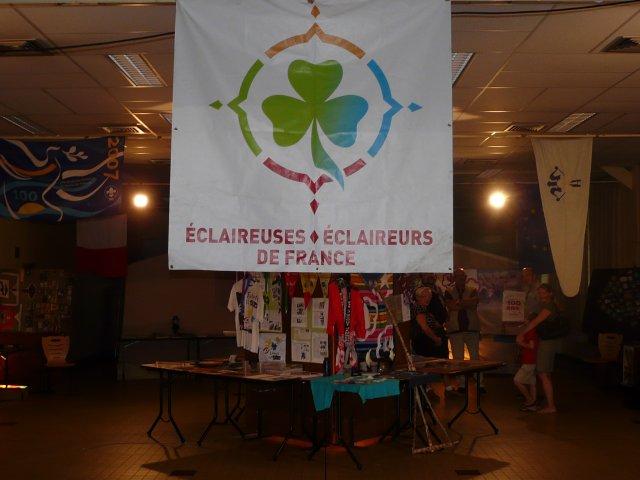 l'entrée de l'exposition
