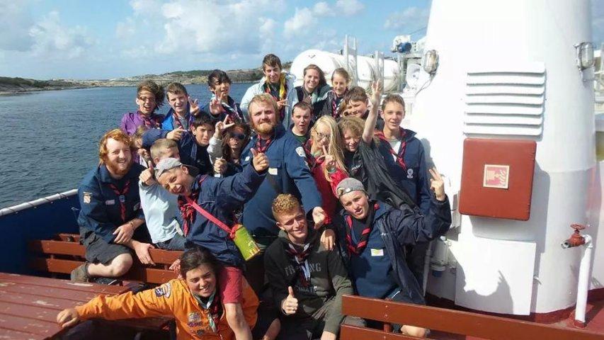 Kragenas 2014 les éclés en route pour la norvege