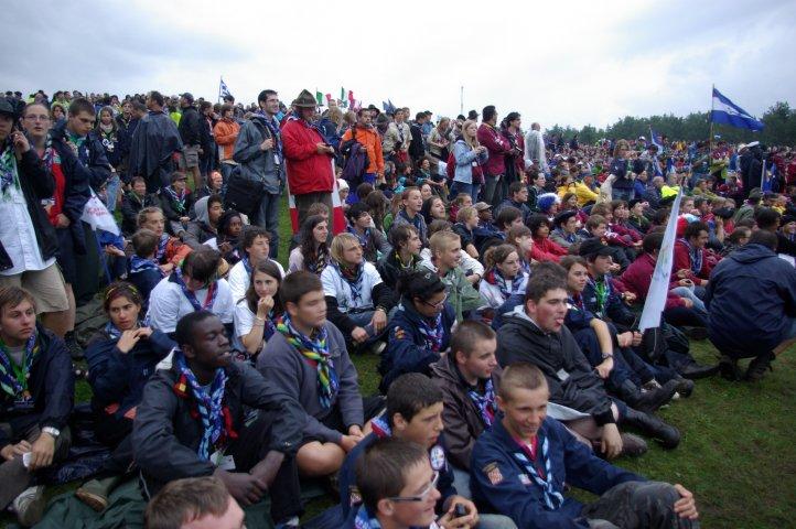 cérémonie d'ouverture du jamboree