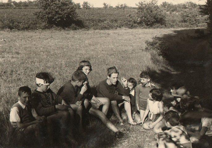 1951 - Rieannoux (Qui se reconnait sur la photo ???)