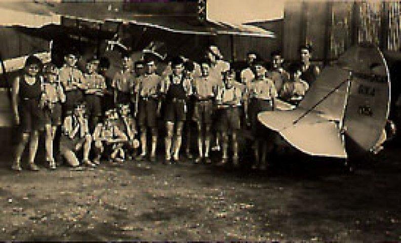 1952 - Visite de l'Aéroclub