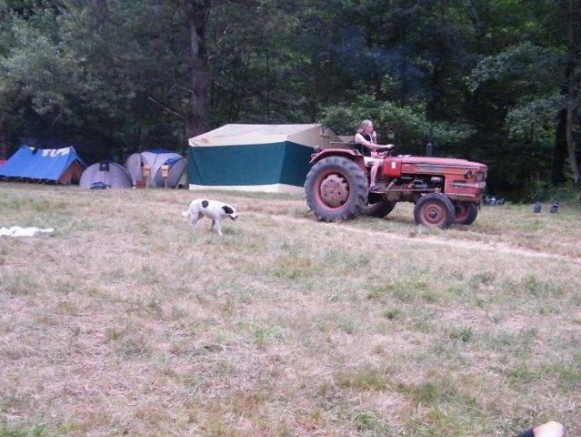 Le propriétaire du camping...