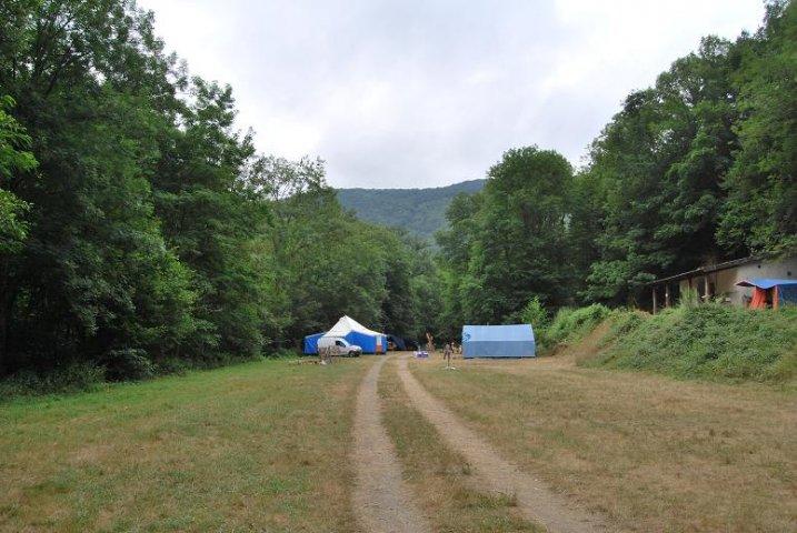 Ce matin le camp est bien calme...