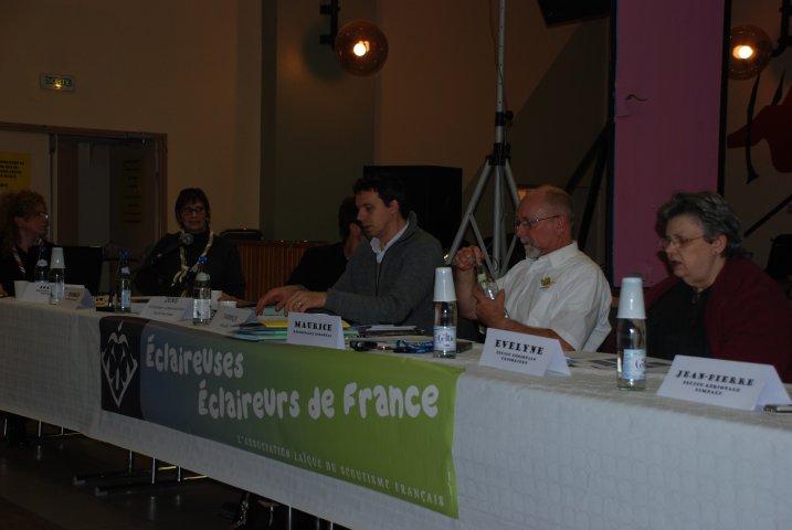 Equipe régionale+le président des EEDF