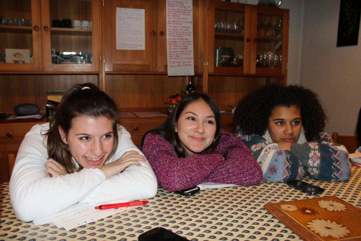 Charlotte, Camélia et Marion