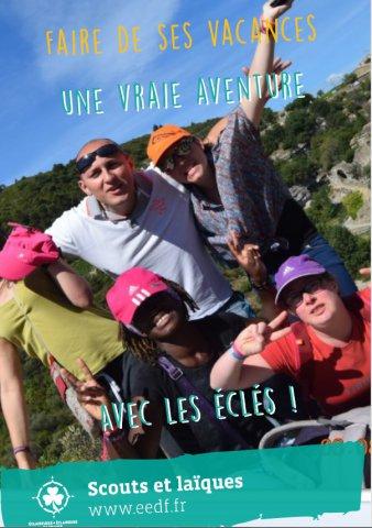 Couverture catalogue Séjours adaptés 2017