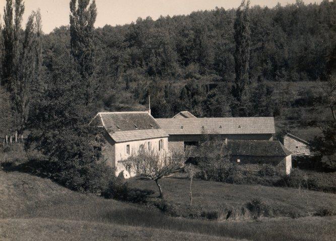 1ère photo du Moulin de Lavaure