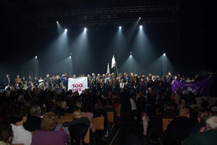 Les EEDF sur la scène du Zénith de Lille