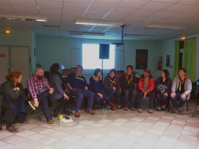 Dernière réunion de l'équipe régionale