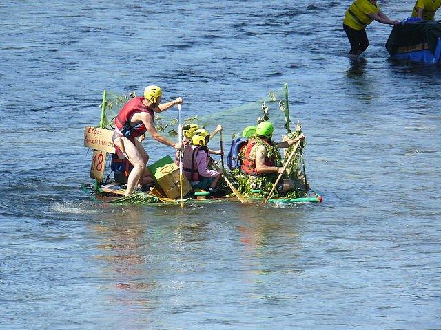 Touskiflot  2009 radeau ecocitoyenneté