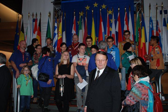 Journée de la paix au parlement de Européen de Strasbourg