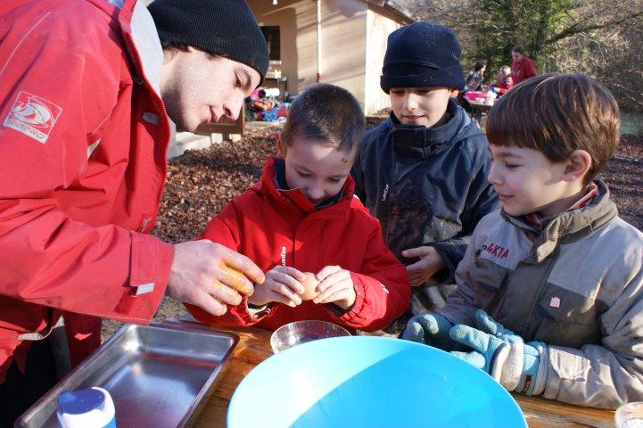 Janvier 2010_ on fait un gâteau