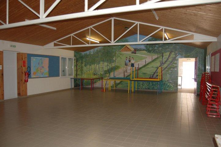grande salle d'activité