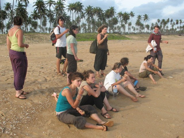 plage au Bénin