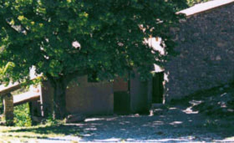 Vue de l'entrée de la salle commune