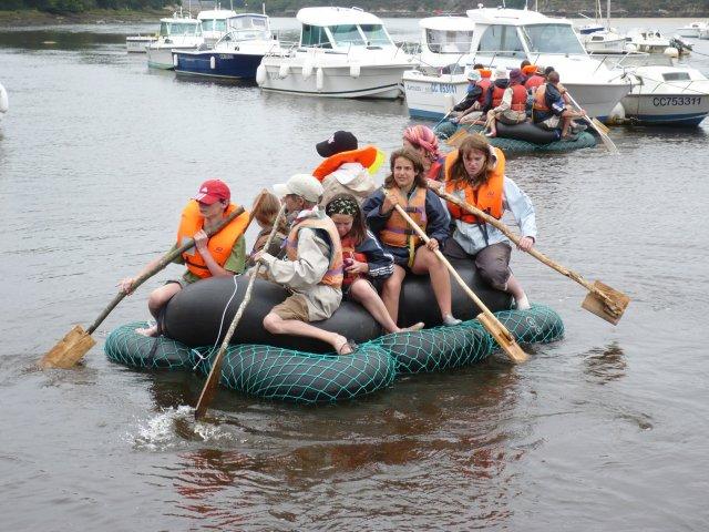 Les radeaux flottent !!!