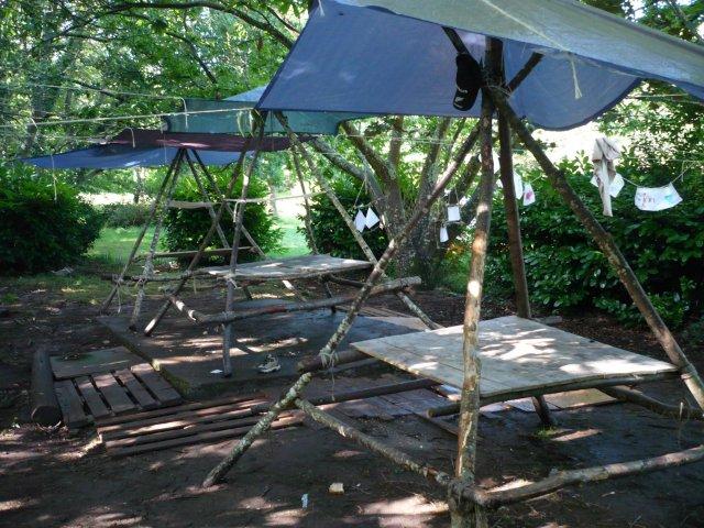 Installation, abritée du soleil ou de la pluie ?