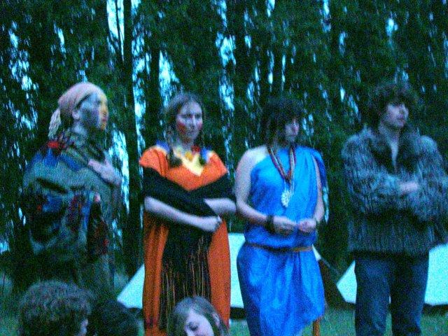 Les chefs de tribu